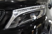 Полиуретановая пленка на фары - Защита от сколов и камней для Mercedes В класса, 447 XL