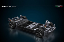 Платформа модульного электромобиля EVX, которую Williams впервые анонсировал почти четыре года назад, является основой проекта и позволит Italdesign управлять стилем автомобилей, построенных на ней.