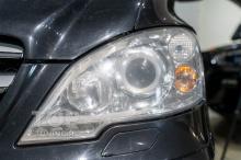 Фары без защиты. Сколы и царапины. Mercedes-Benz Viano 1 (W639)