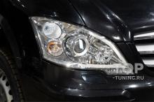 Защита фар  Mercedes-Benz Viano - новые линзы MTF Max Beam