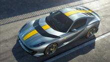 На этом единственном изображении показан Ferrari F125 TDE, обозначающий Tour de Espana (Тур Испании). Это всего лишь слухи, и он может быть изменен на 2022 Ferrari 812 Competizione. На данный момент основы этого автомобиля неизвестны. Одноразовые мод