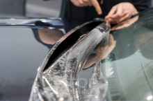 Защита капота от камней и сколов - БМВ Х6 (новый кузов)