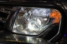Замена линз в оптике Mitsubishi Pajero IV - Bi LED Night Assistant