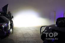 Дальний свет - Mitsubishi Pajero IV - Bi LED Night Assistant