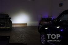 Дальний свет (светодиодные лампы, вместо галогена) Митсубиши Паджеро 4