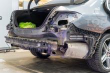 Тюнинг выхлопа Mercedes-Benz E w213 - установка системы Thor