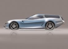 «Угол средней стойки является новым, так как автомобиль будет иметь очень большие боковые окна типа «бабочка» с дистанционным управлением. Резкий наклон задней части универсала был сложной задачей, поскольку он должен был соответствовать заявлению о