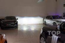 105879 Супер свет в Рендж Ровер 4 - Лазерные Би Лед линзы Laser Jet MTF Light