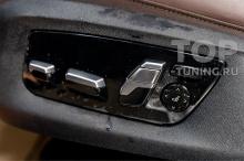 Салон новой БМВ 7 серии _ Оклейка глянца прозрачной бронепленкой