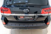106072 Установка обвеса Executive Black на Toyota Land Cruiser 200
