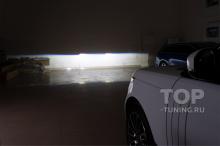 Тюнинг оптики Рендж Ровер 4 – Ближний свет MTF Bi LED Laser Jet