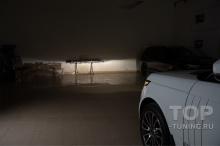 Тюнинг оптики Рендж Ровер 4 – Штатный ближний свет