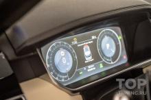 Тюнинг оптики Рендж Ровер 4 – замеры на машине 2017 года выпуска