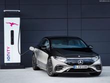 Революционный полностью электрический седан класса люкс идеально сочетает в себе ведущие отраслевые стандарты Mercedes и передовые технологии нового поколения.