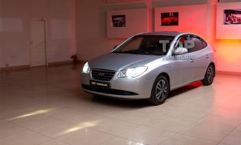 Тюнинг штатной оптики Hyundai Elantra HD