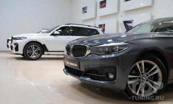 Установка сетки фильтра в решетки BMW 3 F30