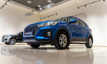 Полный комплект Atom для Hyundai Creta - установка
