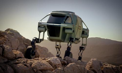 Ходячий робот-автомобиль Hyundai скоро станет реальностью