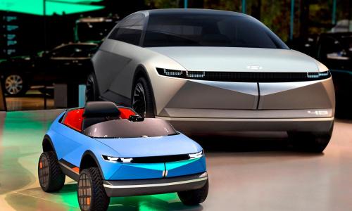 Официально представлен новый электромобиль Hyundai