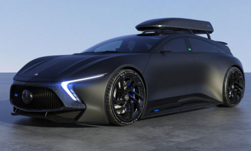 Mercedes-Benz EQR - гиперкар-универсал мощностью 1200 л.с.