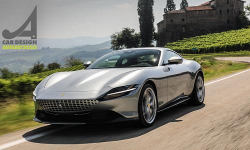 Ferrari Roma получает награду за лучший дизайн 2020 года