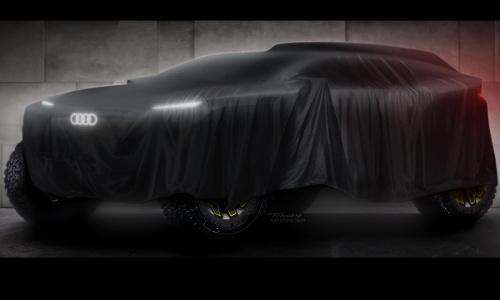 Audi показал потрясающий электрический ралли-кар для Дакара