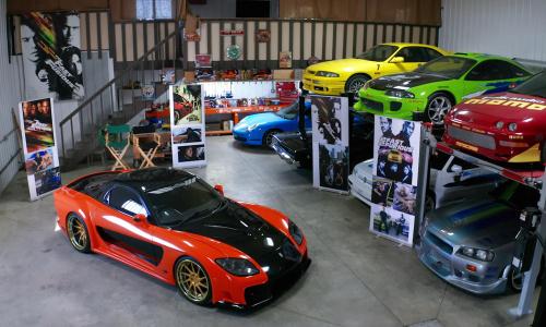 Это самая большая в мире коллекция автомобилей ''Форсаж''
