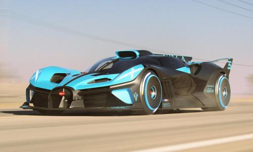 1820 л.с Bugatti Bolide для виртуальных гонок