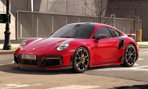 Techart превращает Porsche 911 Turbo S в истребитель McLaren 720
