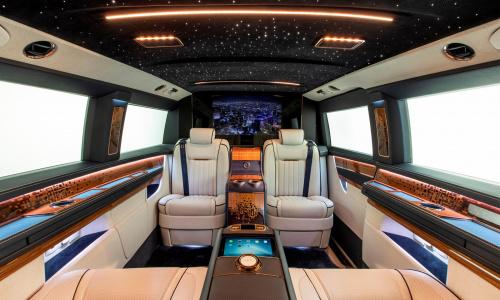 Этот Mercedes Van - пятизвездочный отель на колесах