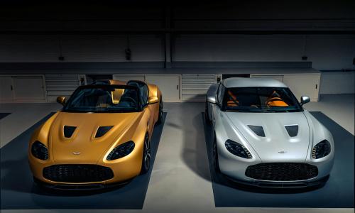 Поприветствуйте первых близнецов Aston Martin Vantage V12 Zagato Heritage