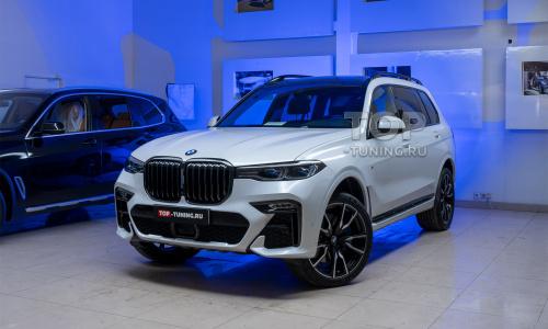 BMW X7 - Пленка, керамика кузова и салона