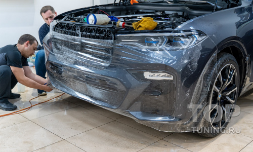 Идеальная защита кузова и салона для BMW X7